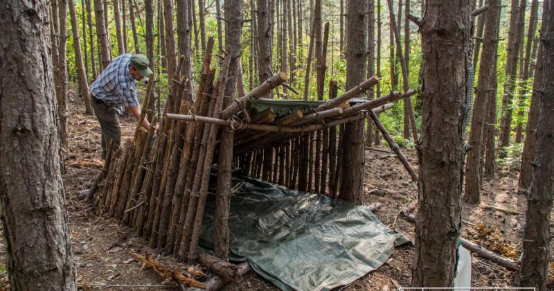Első kiscsoportos Bushcarft oktatás